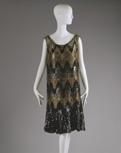 1920s evening dress by Coco Chanel